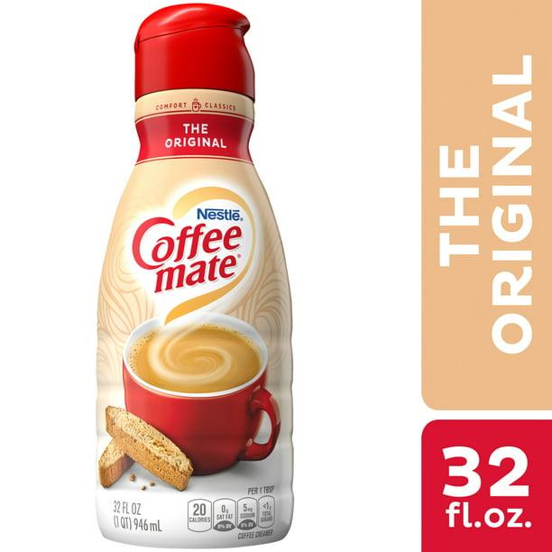 Nestle Coffee mate The Original Liquid Coffee Creamer 32 fl oz. - Walmart.com - Walmart.com
