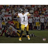 Ben Roethlisberger Pittsburgh Steelers Unsigned Spotlight Photograph