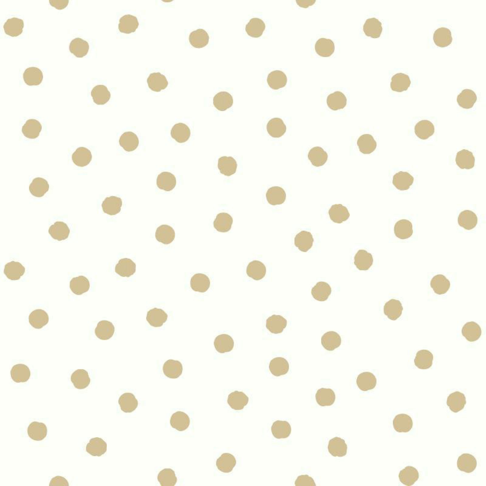 RoomMates Gold Dot Peel & Stick Wallpaper