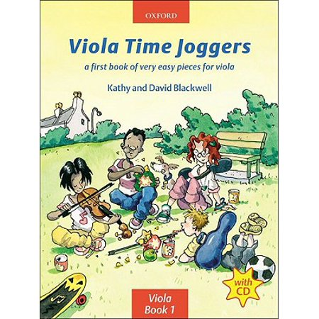 Viola Time Joggers + CD: A first book of very easy pieces for viola (Festa Viola)