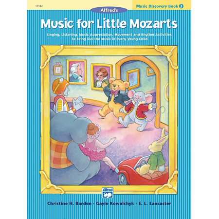 Music for Little Mozarts: Music for Little Mozarts Music Discovery Book, Bk 3: Singing, Listening, Music Appreciation, Movement and Rhythm Activities to Bring Out the Music in Every Young Child (Paper - Halloween Music And Movement For Toddlers