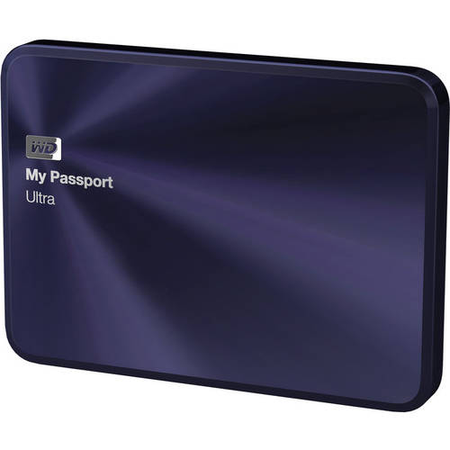how to open my passport ultra drive