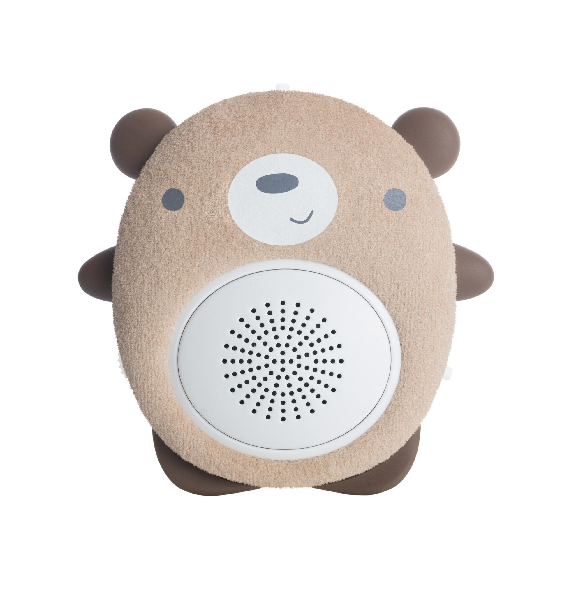 SoundBub by WavHello, White Noise Machine and Bluetooth Speaker, Portable and Rechargeable Baby Sleep Sound Soother | Benji the Bear, Brown