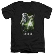 Star Trek Beyond Jaylah Poster Mens V-Neck Shirt