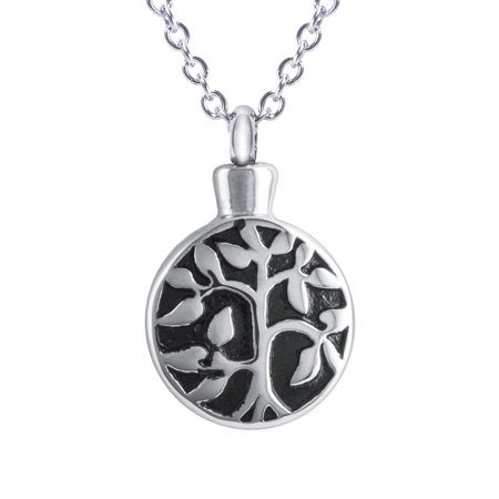 Cremation Urn Necklace for Ashes