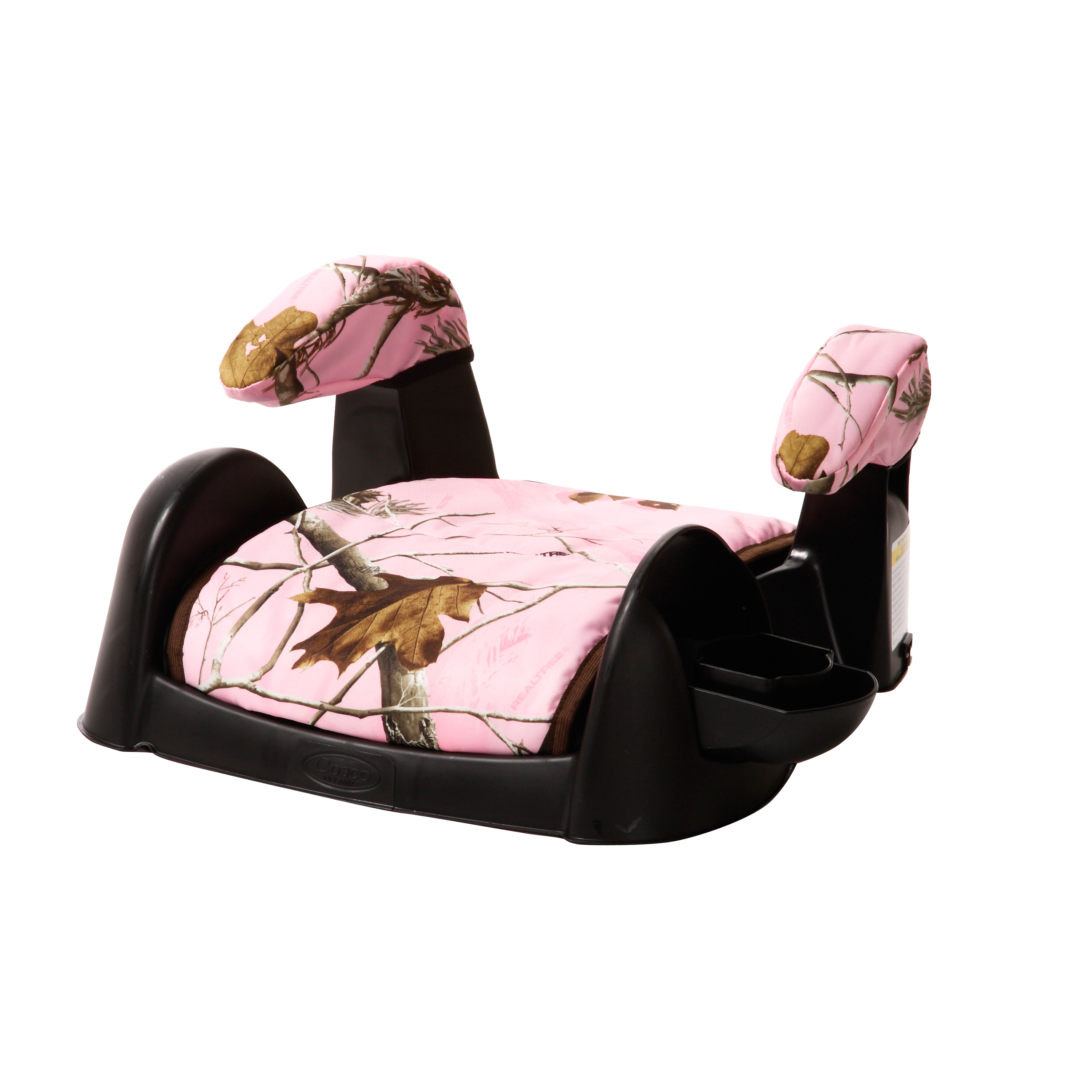 Cosco Ambassador Backless Booster Car Seat Realtree Pink