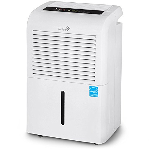 Ivation 70 Pint Energy Star Dehumidifier With Pump Large