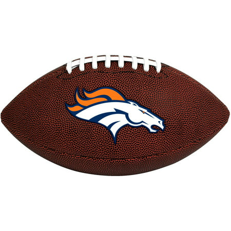 Rawlings NFL Official Size Game Time Football, Denver Broncos