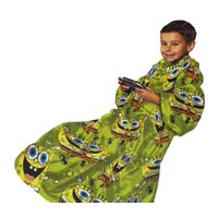 SpongeBob Squarepants Youth Comfy Throw - The Blanket with Sleeves