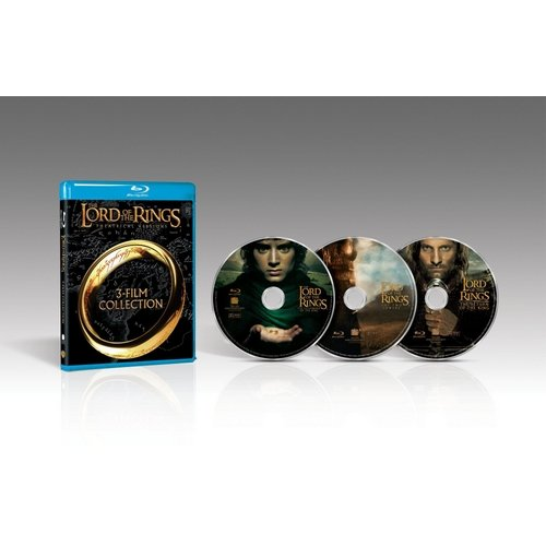 The Lord of the Rings: 3 Film Collection (The Fellowship of the Ring, The Two Towers, Return of the King)