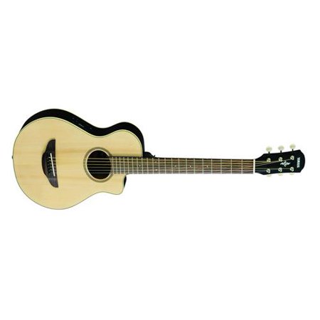 Yamaha APXT2 3/4 Size Travel Acoustic-Electric Guitar (Natural, -