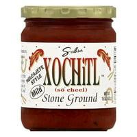 Xochitl Mild Stone Ground Salsa, 15 OZ (Pack of 6)