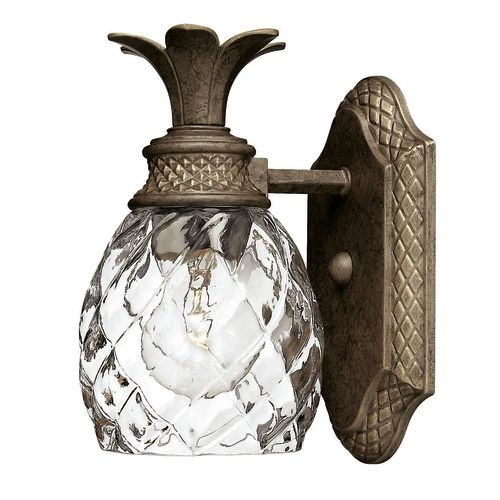 """Hinkley Lighting H5310 1-Light 5"""" Width Bathroom Sconce from the Plantation Collection"""