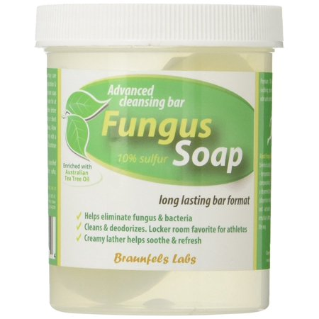 Fungal Soap - Tinea Versicolor, Tinea Corporis, Foot Tinea (Athletes Foot), Tinea Cruris (Jock