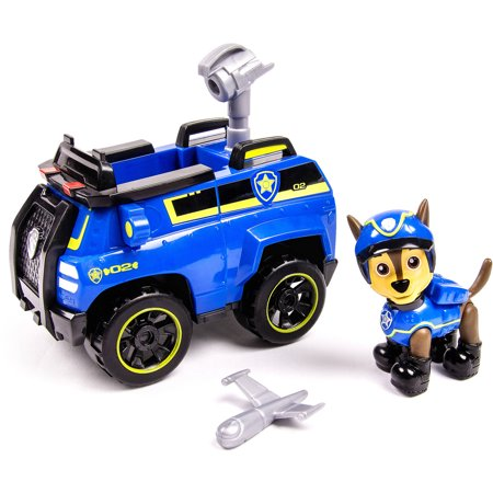 Paw Patrol Chases Spy Cruiser, Vehicle and Figure
