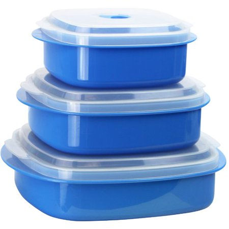 Reston Lloyd Calypso Basics 3 Container Food Storage Set (Set of 2)