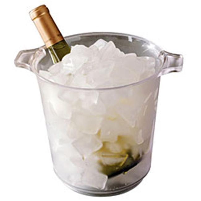 Emi Yoshi EMI-IB1C 1 Gallon Clear Ice Bucket - Pack of 6
