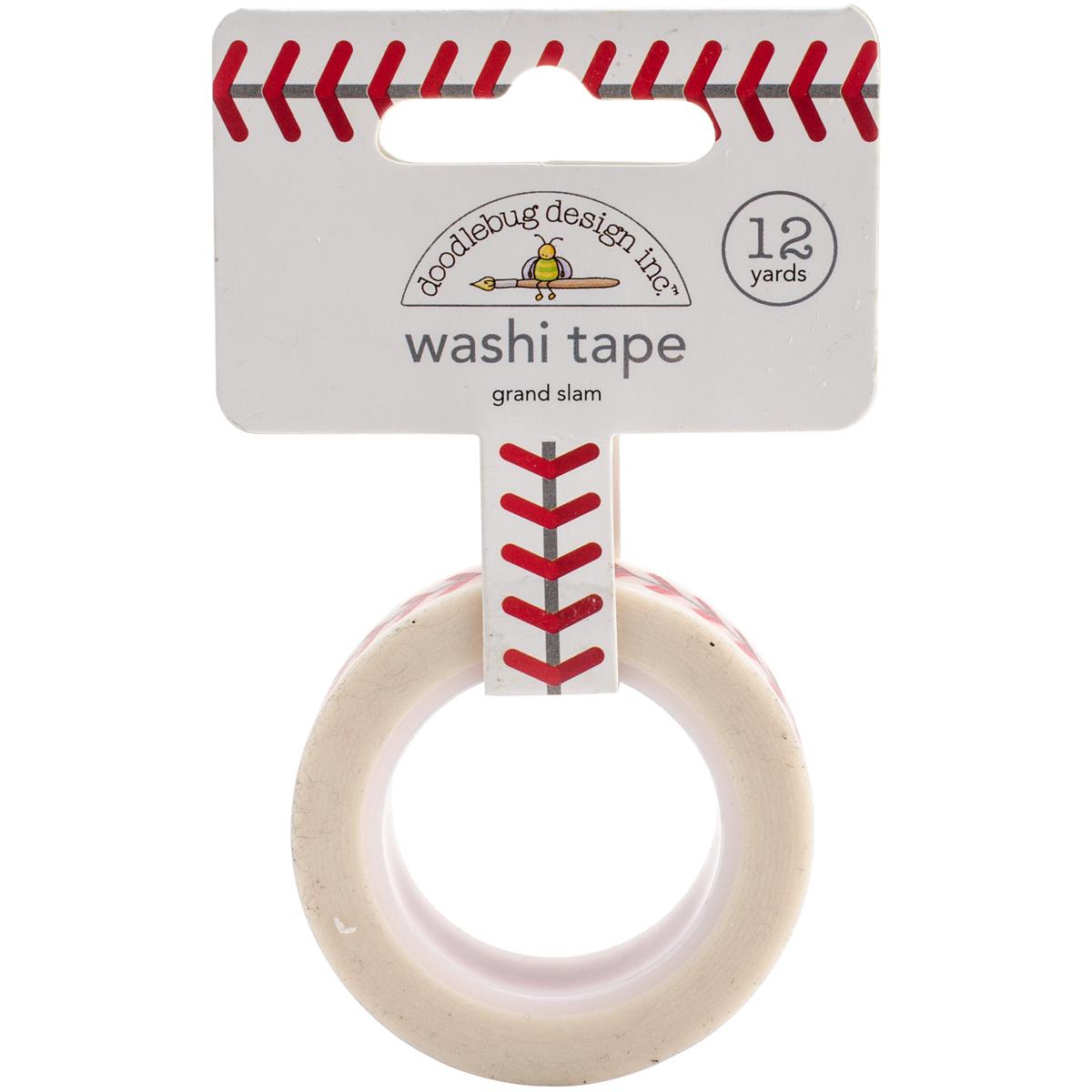 Doodlebug Washi Tape 15mmX12yd-Home Run Grand Slam
