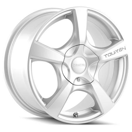 Touren TR9 17x7 5x105/5x108 +42mm Silver Wheel Rim 17