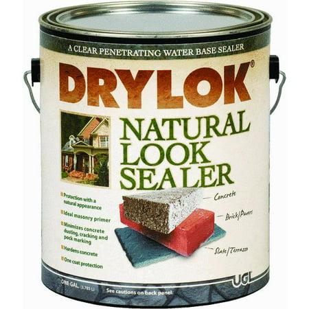 Drylok latex clear natural look concrete sealer - Exterior concrete block finishes ...