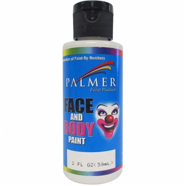 5600036-10 Face & Body Paint - 2 oz. , White