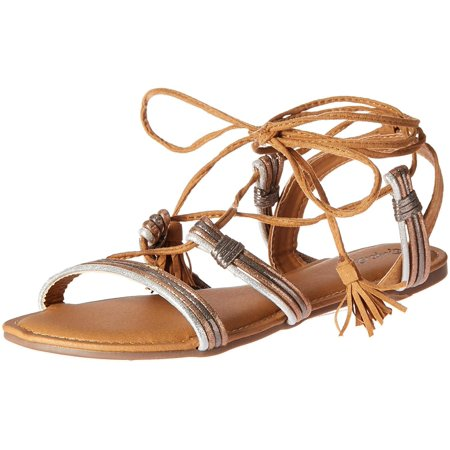 Qupid Womens Archer Open Toe Casual Gladiator Sandals - Archer Shoes