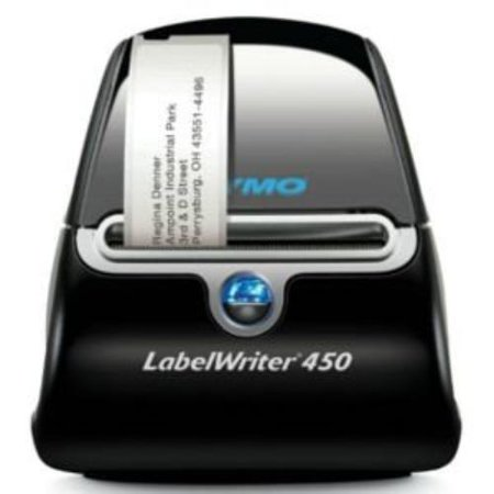 DYMO LabelWriter 450 Super Bundle - FREE Label Printer with 4 rolls of Shipping, File Folder