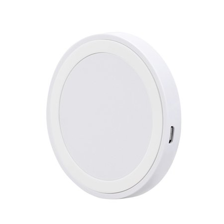 Fast Wireless Charger, Qi-Certified Fast Wireless Charging Pad Compatible with iPhone 11/11 Pro/11 Pro Max/XS MAX/XR/XS/X/8/8Plus, Galaxy Note 10/Note 10 Plus/S10/S10 Plus/S10E(White White) ()