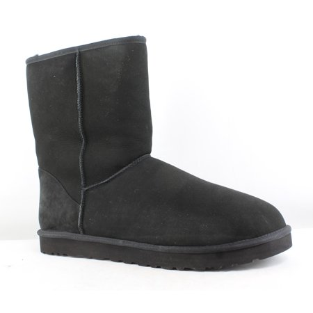 UGG Mens Classic Black Snow Boots Size 18 ()