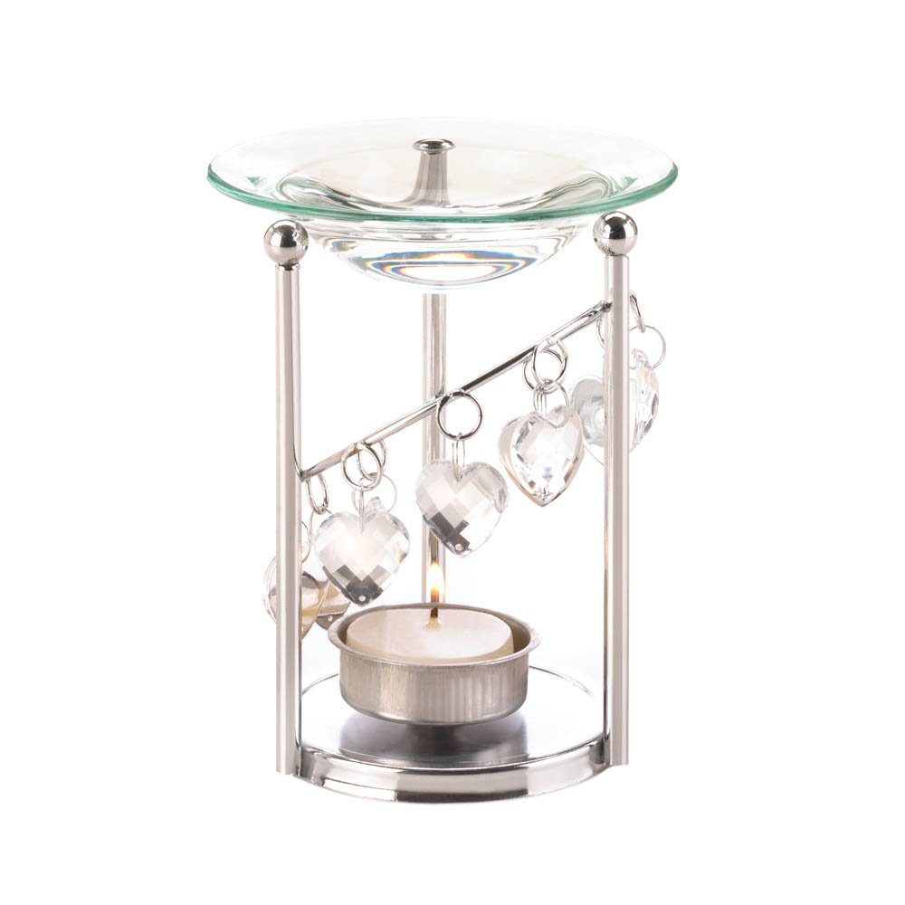Best Oil Warmer, Asian Essential Candle Warmer Bejeweled Aroma Oil Warmer Burner