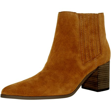 Charles By Charles David Womens Unity Suede Ankle High Suede Boot