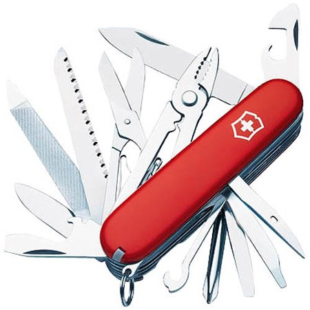 Victorinox Swiss Army Craftsman Pocket Knife Red