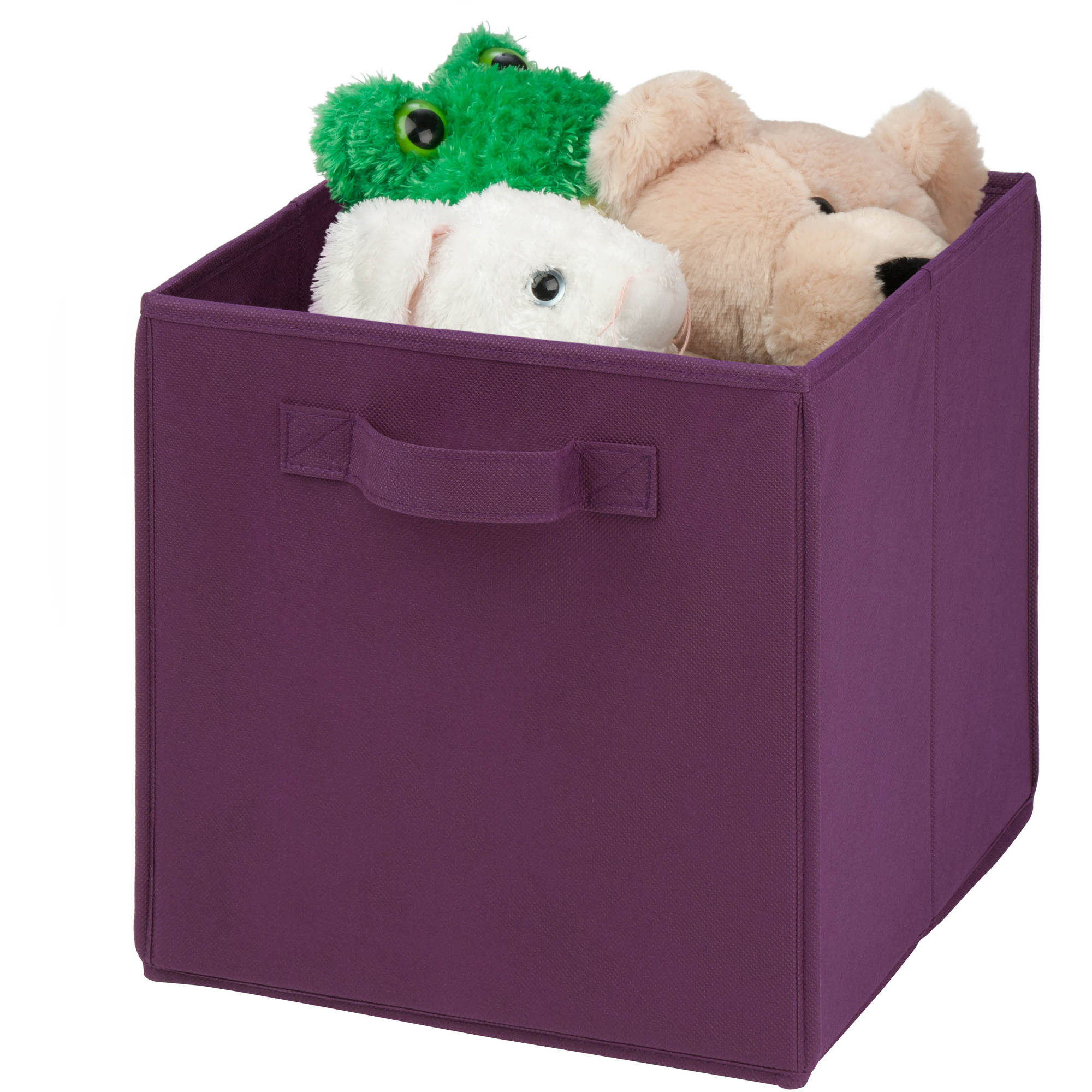 High Quality Honey Can Do Non Woven Foldable Storage Cube, Multicolor (Pack Of 4)