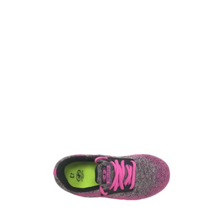 Athletic Works Girls' Lightweight Knit Athletic Shoe