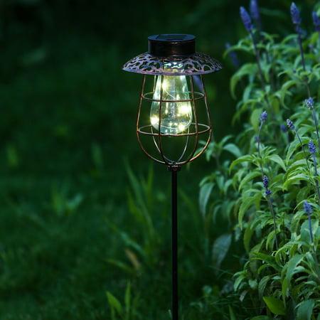 Solar Light Lantern Garden Stake ()