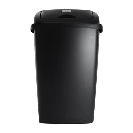 Sterilite, 13.2 Gal./50 L SwingTop Wastebasket, Black