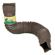 Flex-Drain 85019 Downspout Extension, Brown, N/A By Amerimax Home Products