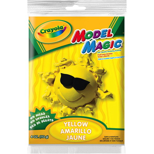 Crayola Blue Model Magic Modeling Material, 4 ounces