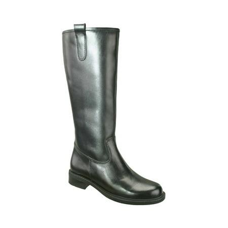 7dd6885f0f85 David Tate - David Tate Women s Best 20 Fashion Boots Black Leather 8.5 WW  - Walmart.com