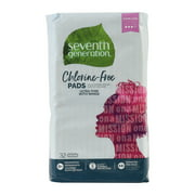 Seventh Generation Ultra Thin Pads, Super Long with Wings, Free & Clear, 32 count