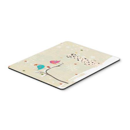 Christmas Presents Between Friends Dalmatian Mouse Pad, Hot Pad or Trivet - image 1 of 1