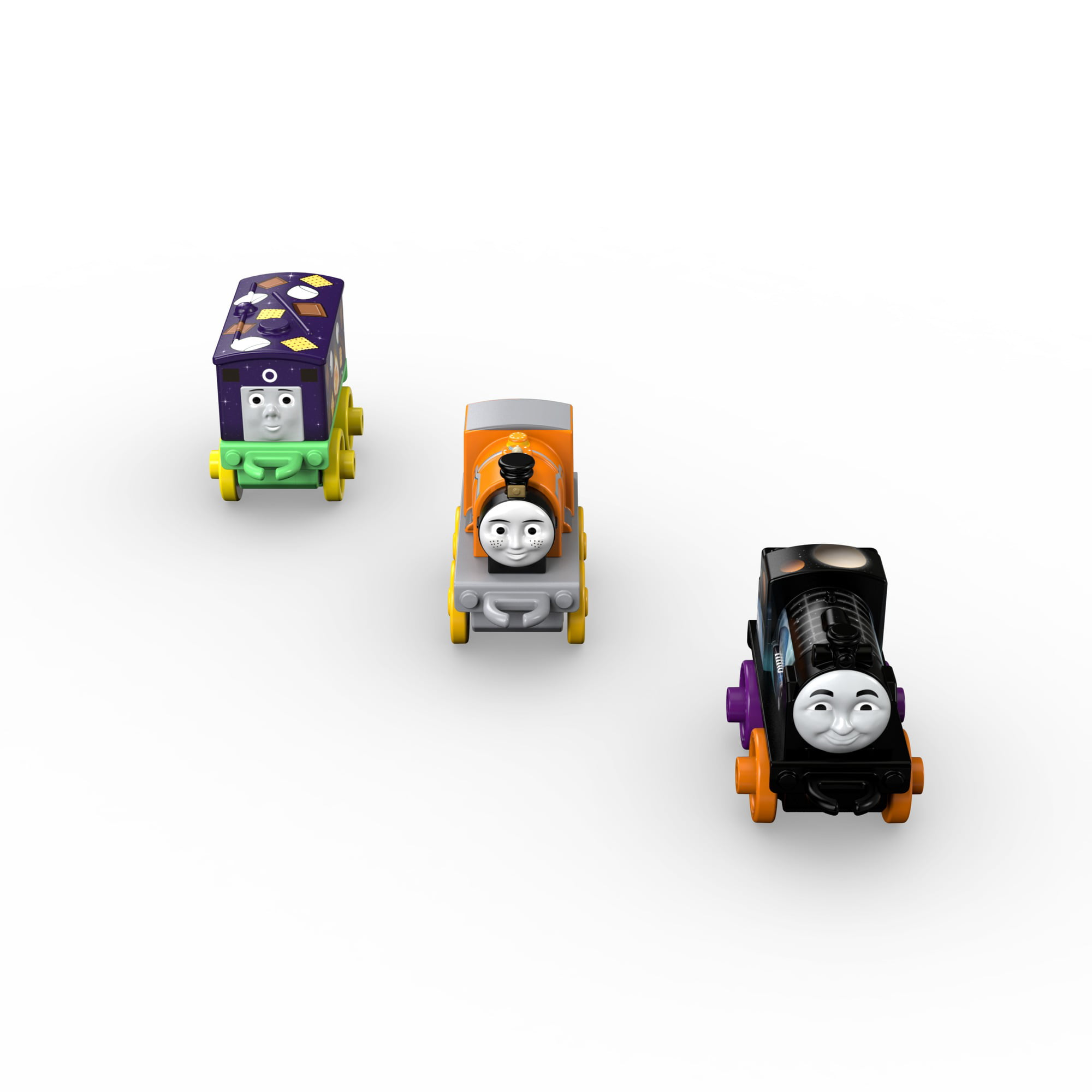Thomas & Friends MINIS Night Time Toby, Space Hiro & Classic Dash by Generic