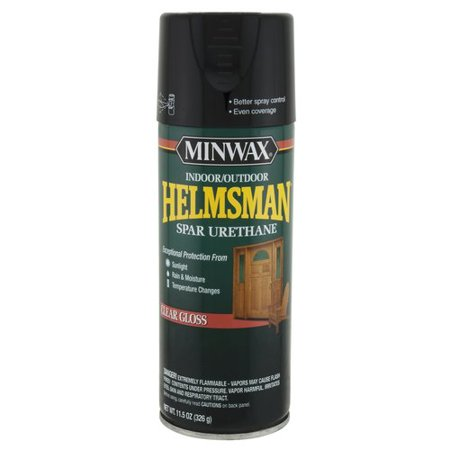 Minwax Helmsman Clear Gloss Aerosol 11.5-Oz (Helmsman Flush)