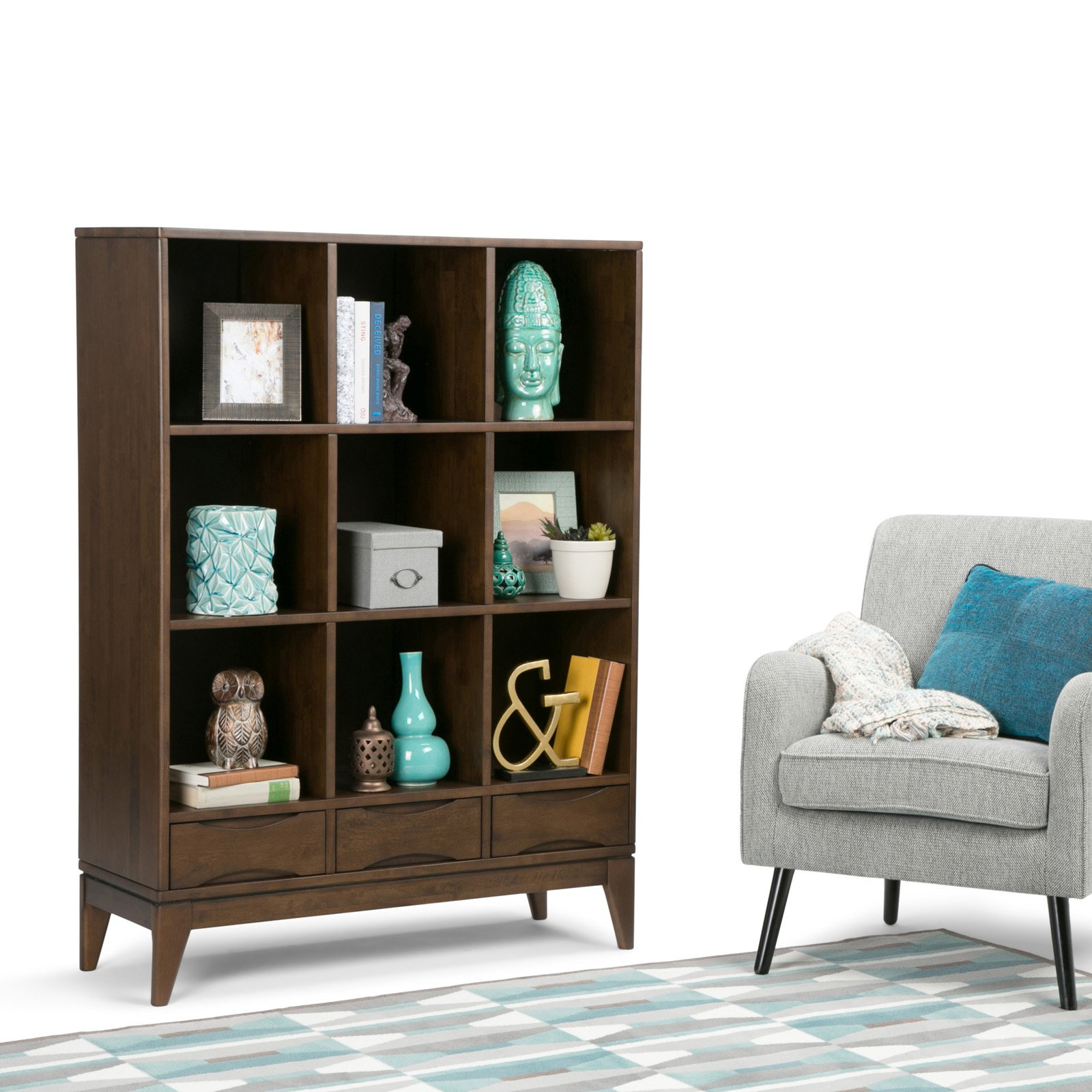 Simpli Home Harper Cube Storage with Drawers