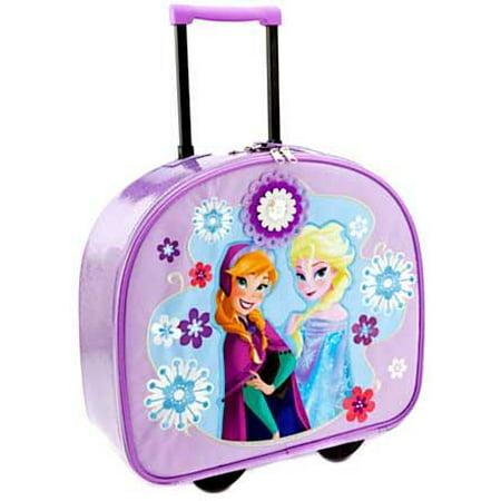 Disney Frozen Anna & Elsa Rolling Luggage (Disney Frozen Rolling Luggage)