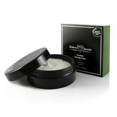Edwin Jagger Aloe Vera Premium Natural Shaving Shave Cream 100ml 3.4oz - Edwin Jagger Aloe