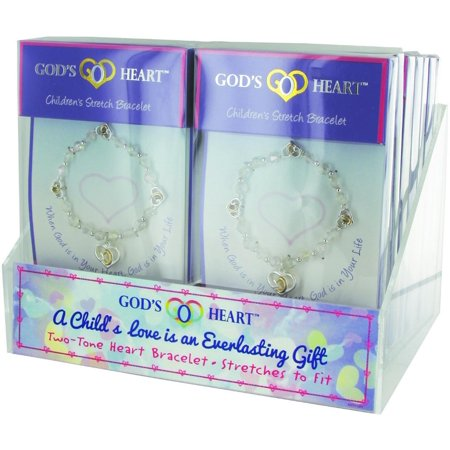 God's Heart Children's Stretch Bracelet Case Pack (God's Heart Bracelet)