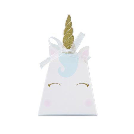 Unicorn Favor Box (Set of 12) - Bird House Favor Box