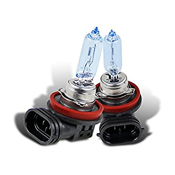 Spec-D Tuning BH-H9H-DK H9 65W 4200K Halogen Head Lamp Low Beam Headlights Replace Bulbs Pair
