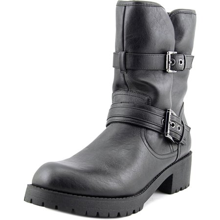 cb411d409 G by Guess - G By Guess Women's Minion 2 Buckle Furry Bootie Boots -  Walmart.com